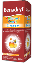 BENADRYL® Children's Cough Liquid 2 Years +