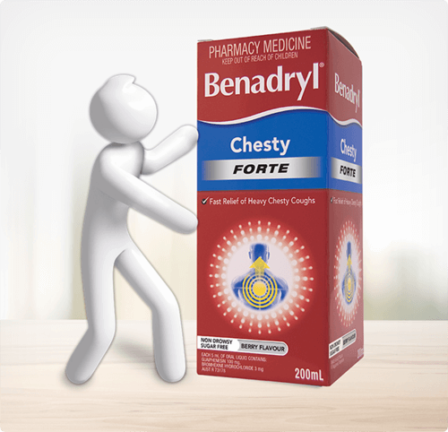 BENADRYL® Chesty Forte Cough Liquid